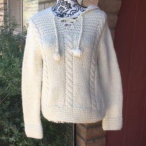 Madewell hand knit sweater